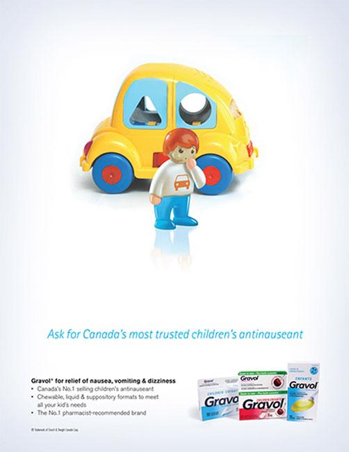 Gravol: Car Sickness